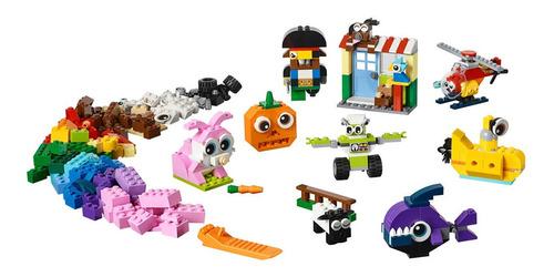 Lego Ladrillos Y Ojos Creativos
