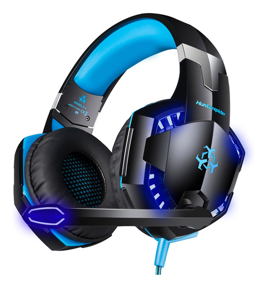 Hunterspider V-2 Over-ear Gaming Headphone 3.5mm Headset Com