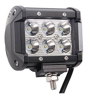 Faro Led Cree 6 4 Pulgadas 18w 4x4 Off Road Ip67 Machito