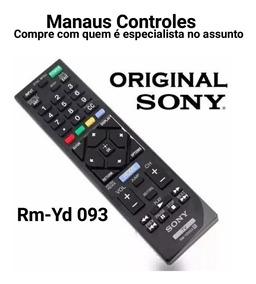 Controle Remoto Tv Lcd/led Sony Bravia Rmyd093 Original