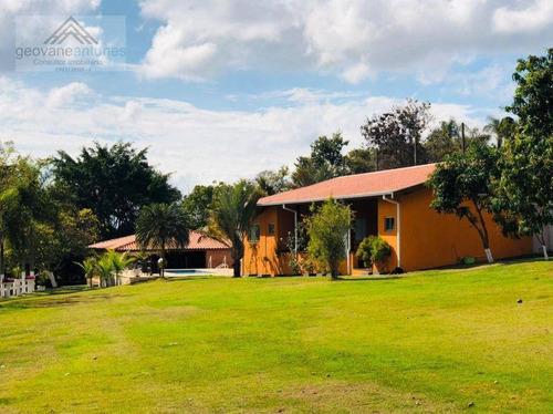 Imagem 1 de 21 de Chácara Com 6 Dormitórios À Venda, 13940 M² Por R$ 1.800.000,00 - Pereiras - Limeira/sp - Ch0028