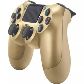 Controle Playstation 4 Dualshock Ps4 Cor Gold