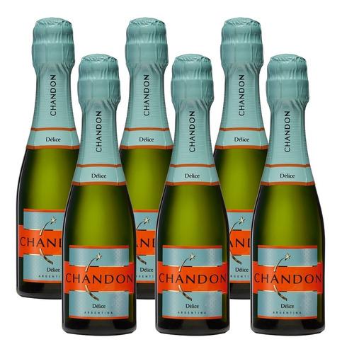 Champagne Chandon Delice Espumante 187ml X6