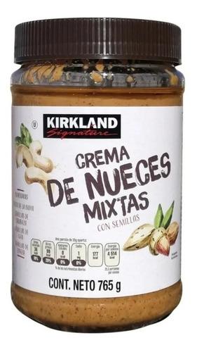 Crema De Nueces Mixtas Kirkland Signature 765 Gr