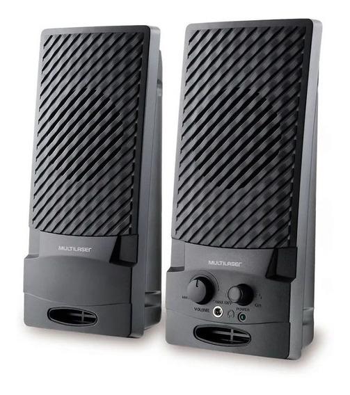 Caixa De Audio De Som Para Pc Computer Computador Notebook
