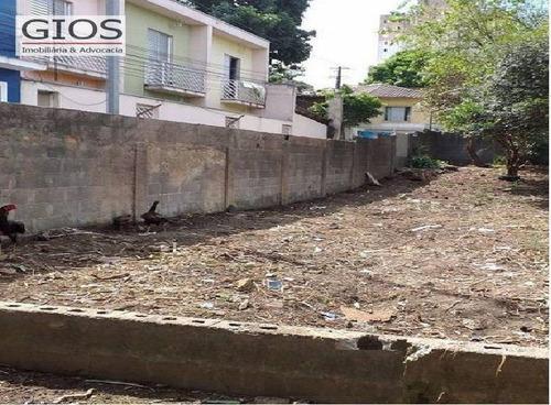 Terreno À Venda, 560 M² Por R$ 1.100.000,00 - Limão (zona Norte) - São Paulo/sp - Te0053
