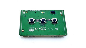 Botão Power On Off + Sensor Remoto Tv Semp Tcl 49u7800