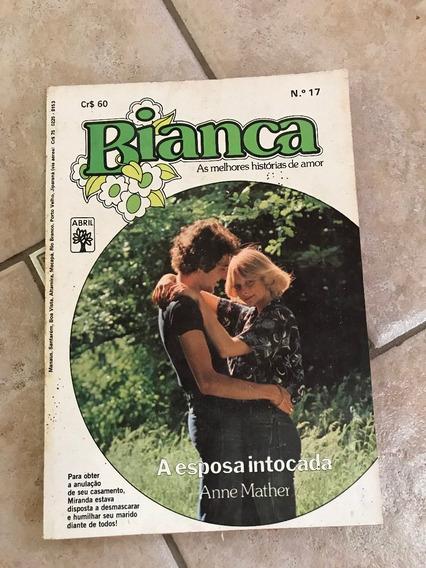 Livro De Romance Bianca Número 17 A Esposa Intocada