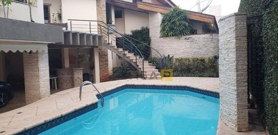 Casa Com 5 Dormitórios À Venda, 483 M² Por R$ 1.500.000 - Vila Nossa Senhora De Fátima - Americana/sp - Ca0554