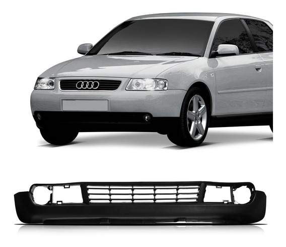 Saia Spoiler Parachoque Dianteiro Audi A3 2001 2002 03 04 05
