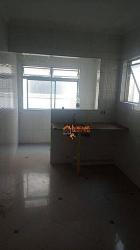 Imagem 1 de 6 de Apartamento Com 2 Dormitórios À Venda, 46 M² Por R$ 180.000,00 - Macedo - Guarulhos/sp - Ap3442