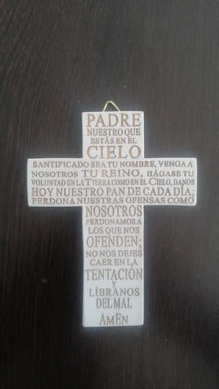 Cruz Resina Padre Nuestro
