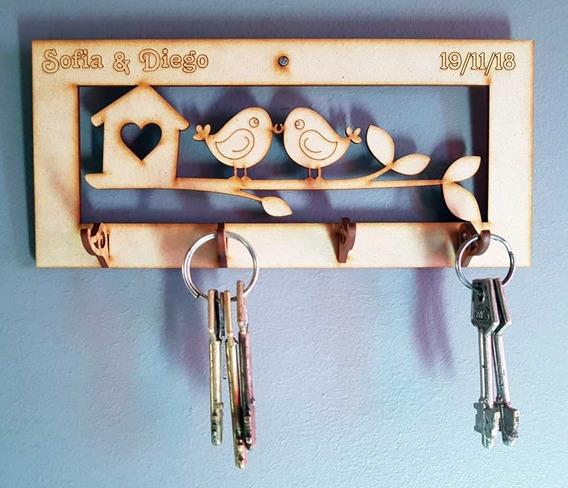 80 Porta Llaves Personalizados Cuadros Souvenirs Fibrofacil
