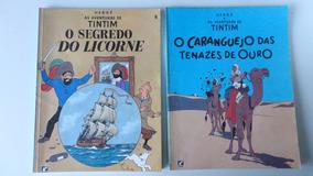 9 Hqs As Aventuras De Tintim Vários Títulos Ed. Record