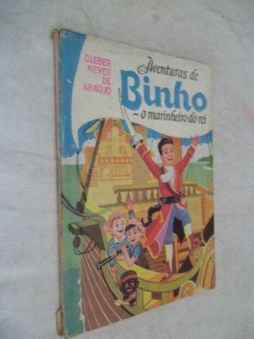 Livro - Aventuras De Binho - Infanto-juvenil