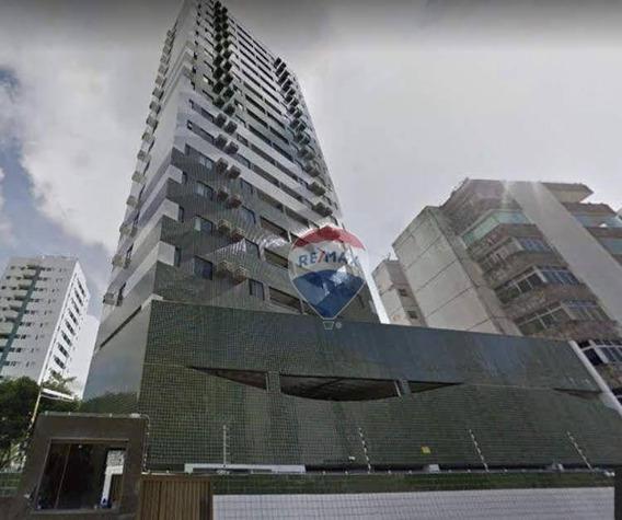 Apartamento Para Alugar 3 Qtos, 2 Suítes Em Boa Viagem/setúbal - Ap0925