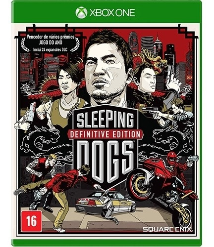 Sleeping Dogs Definitive Edition Xbox One Midia Fisica Novo