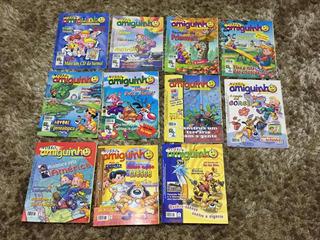 Lote Revistas Meu Amiguinho - Ótimo Estado - 11 Und.
