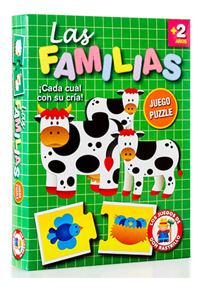 Juego Las Familias Cada Cual Con Su Cria Ruibal