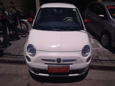 Fiat 500 Cult 1.4 Completo Interior Branco