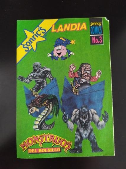 Comic Monstruos De Bolsillo Sonrics # 3 Vintage México