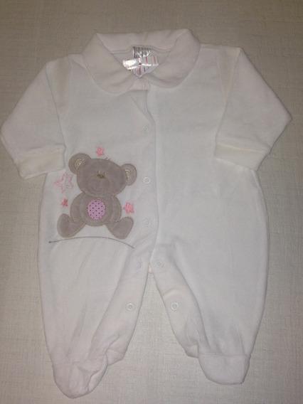 Macacão Infantil Bebe Plush - Ref:10721