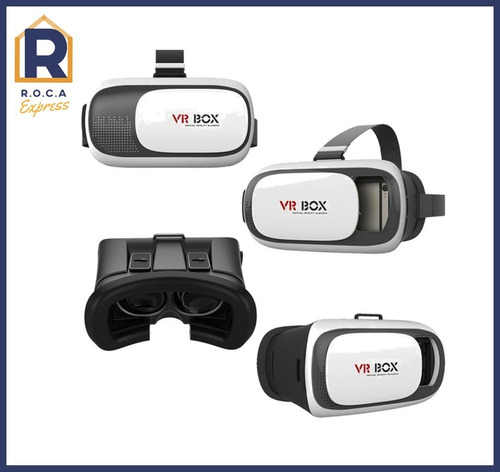 Lentes De Realidad Virtual 3d Android iPhone Vr-box 2