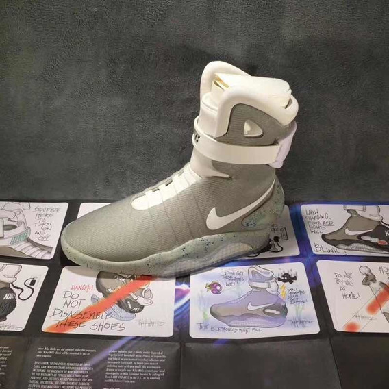 Tênis Nike Mag Back To The Future (2016) Top Raro Encomenda