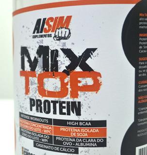 Combo Suplementos 3 Whey Protein 2kg Cada+1creatina+1malto
