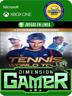 Tennis World Tour Legend Edition- Xbox One - Modo Local