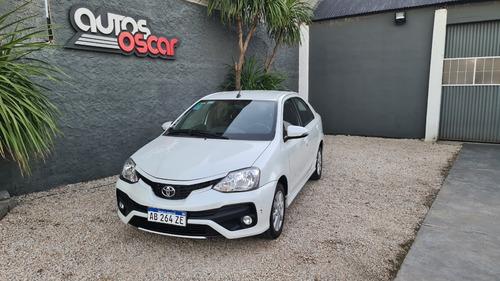 Toyota Etios Xls 6m/t Linea Nueva 28.000km 4p