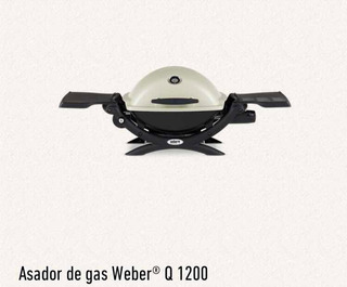 Asador De Gas Weber Q1200