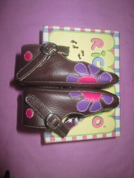 Zapatos De Bebe Richolino Talla 17
