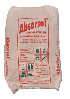 Absorvente Mineral Industrial X 25 Kg