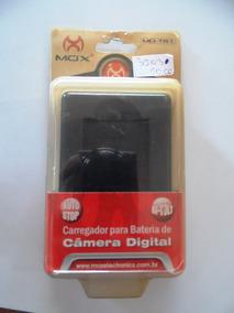 Carregador Mox Mo-tr1 Para Bateria De Câmera Digital