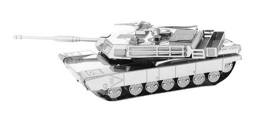 Fascinations Metal Earth Tanque  M1 Para Armar -rompecabezas