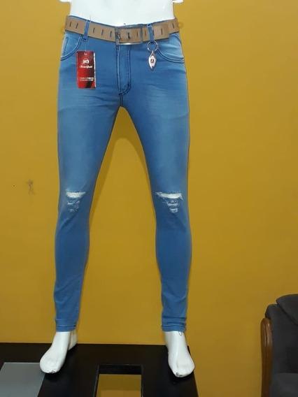 Pantalon Jean Chupines Para Hombre