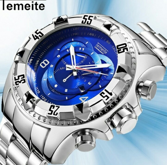Relógio Temeite Big Dial Original Pronta Entrega . Com Box
