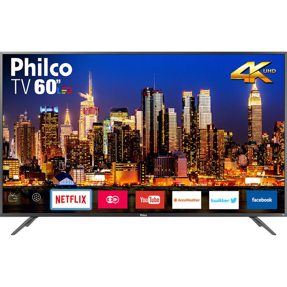 Tv Philco Led 4k 60 Ptv60f90dswns Bivolt