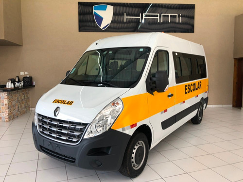 Renault Master L2h2  0km 2021 Escolar  20 Lugares