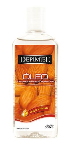 Oleo Limpiador Post Depilatorio Depimiel X 500 Ml