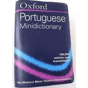 Dicionario Mini Oxford Português Inglês Joh Whitlam B3088
