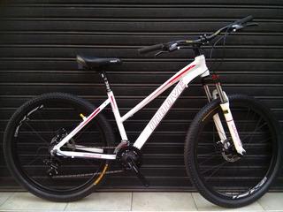 Bici Todo Terreno Aluminio Rodado 27,5 Suspensión