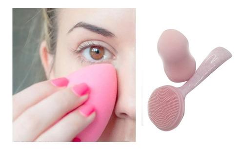Imagen 1 de 5 de Esponja Para Aplicar Base Maquillaje Mujer 611