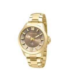 Relógio Technos Masculino Dourado 2115krm4c