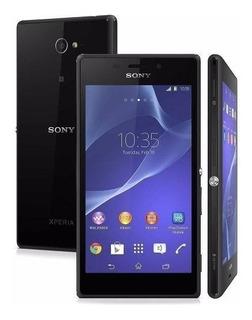 Celular Sony Xperia M2 Normal D2306 Vitrine Novo