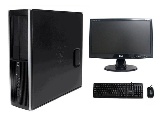 Computador Hp Elite 8200 I7 4gb 1tb Hd Monitor 19 Polegadas