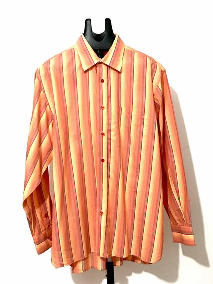 Camisa Ike Behar Importada Diseño Country Moderno Talla L