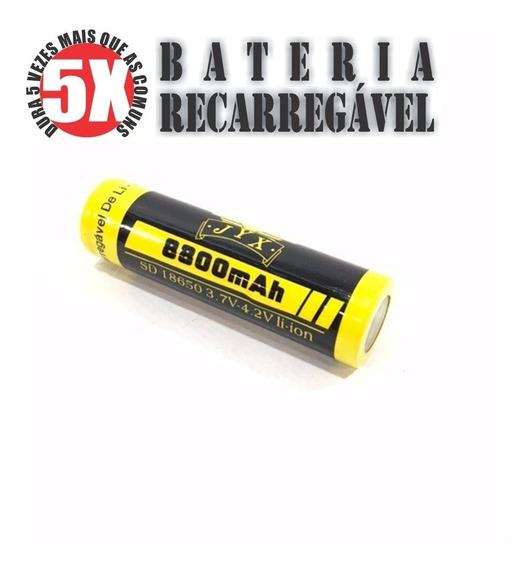 04 - Baterias Recarregáveis 18650 8800mah 4.2v - Novas