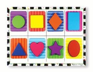 Chunky Puzzle: Rompecabezas De Madera (13730)